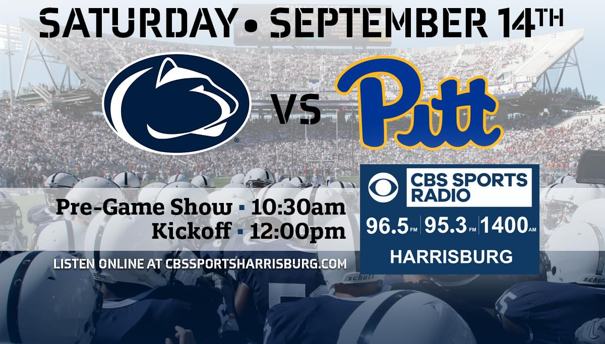 image about Penn State Football Schedule Printable named Penn Country Soccer CBS Sports activities Radio Harrisburg WHGB-AM