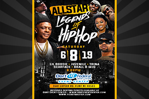 The All star Legends of Hip Hop!