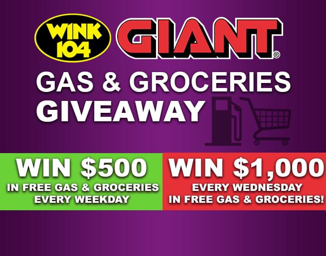 GIANT Gas & Groceries Giveaway | WNNK-FM