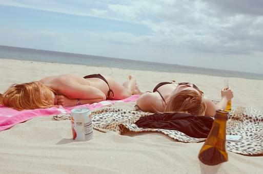 The topless beach debate..is going to court!