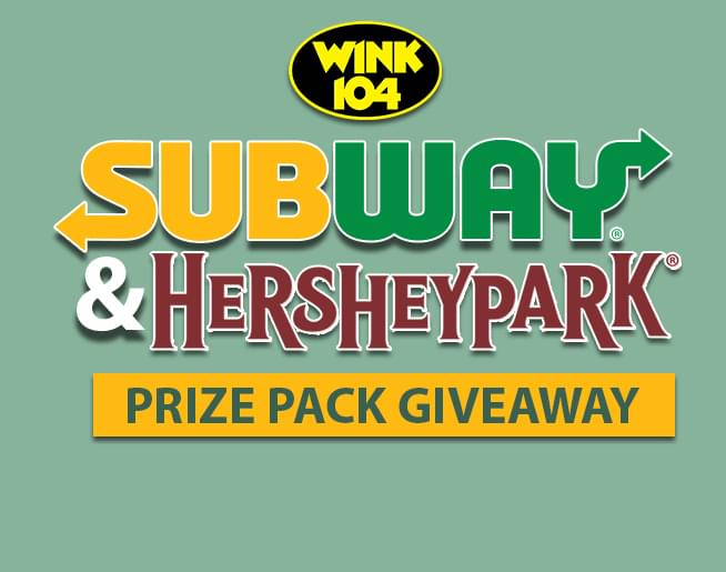 Subway Hersheypark Prize Pack Giveaway Wnnk Fm