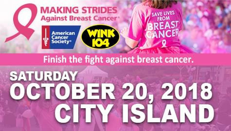Making Strides Against Breast Cancer Walk – October 20