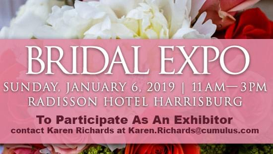 Be An Exhibitor At The 2019 Bridal Expo!