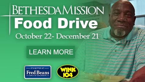 Fred Beans Bethesda Mission Food Drive