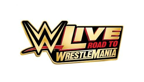 road to wrestlemania live logo