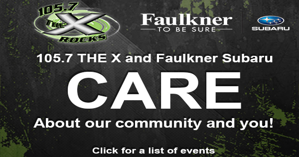 THE X and Faulkner Subaru CARE!