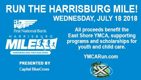 The Harrisburg Mile – Wednesday, July 18