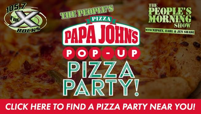 The People's Papa John's Pop-Up Pizza Party