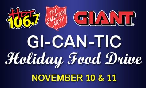GI-CAN-TIC Thanksgiving Food Drive
