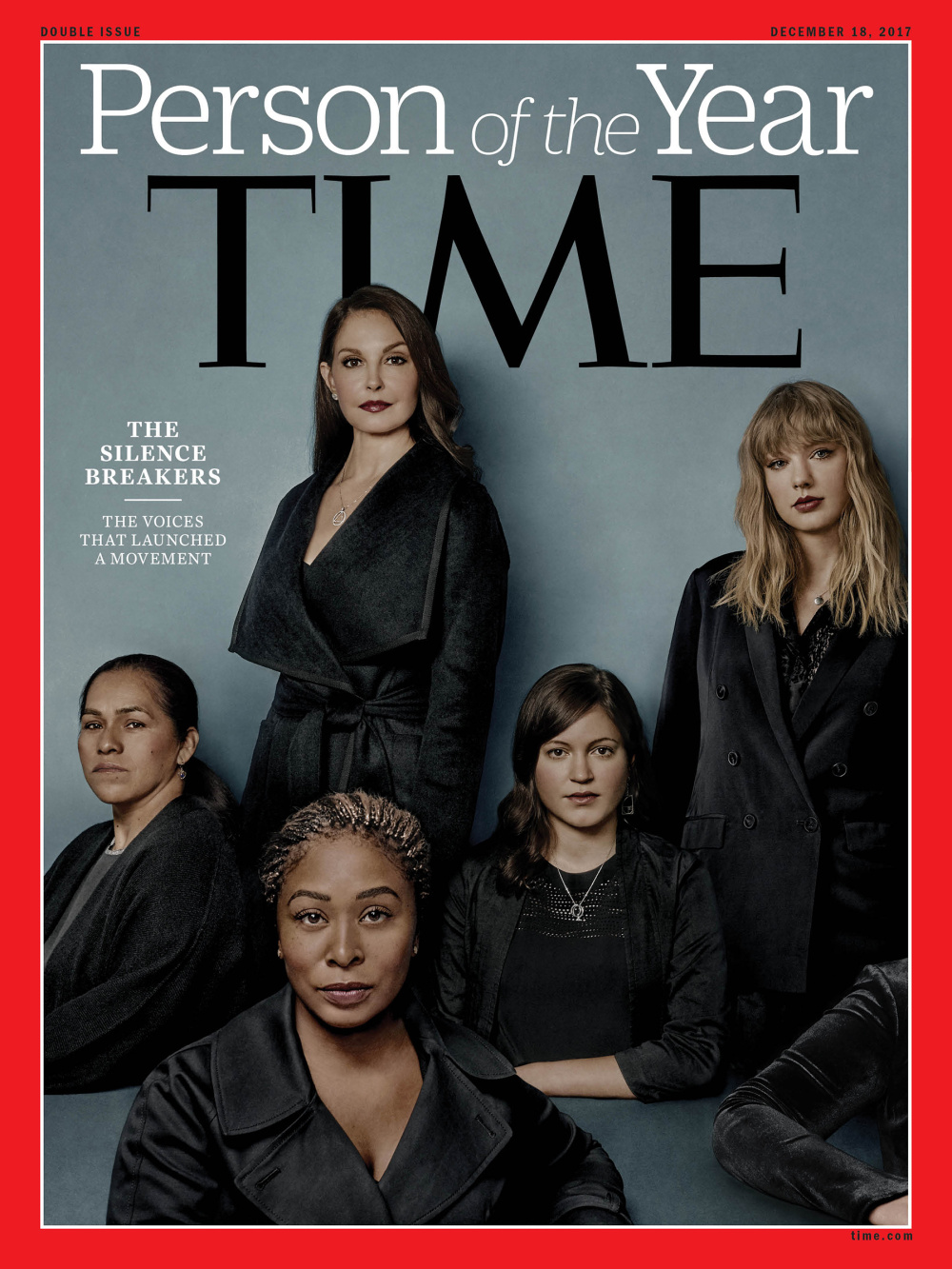 The 'Silence Breakers' Named Time's Person of the Year