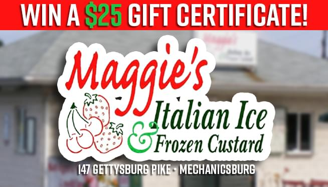 Maggie's Italian Ice Gift Certificate Giveaway