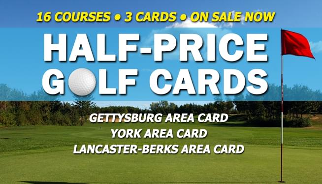 Half Price Golf Cards