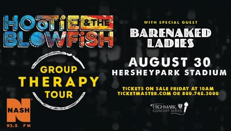Hootie & the Blowfish – ENTER TO WIN!