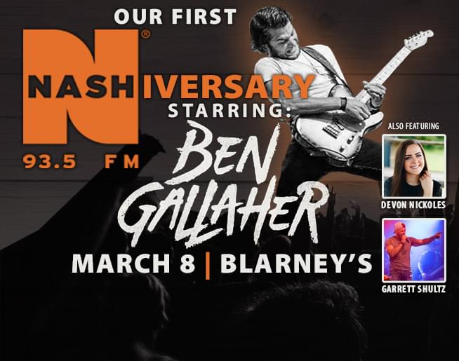Our first NASHiversary starring Ben Gallaher