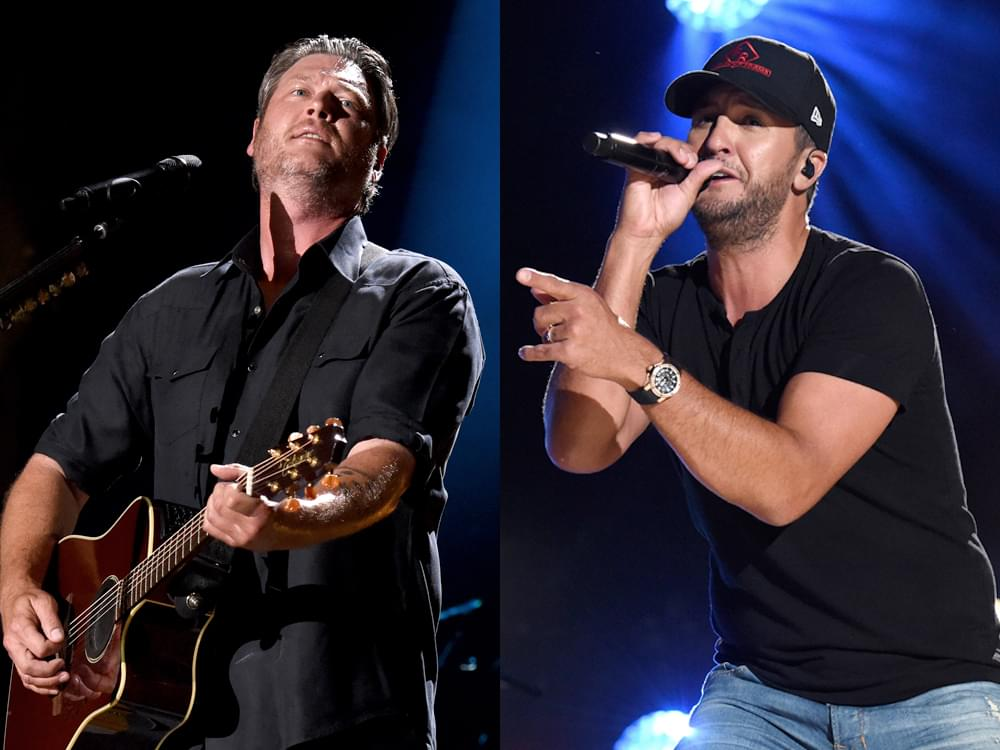 Luke Bryan, Blake Shelton, Keith Urban & Old Dominion Added as Performers at ACM Awards + Presenters Announced