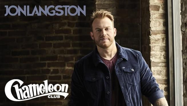 Jon Langston Concert Giveaway