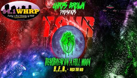 Win Tickets To See Chris Brown – Saturday, July 7 At Oak Mountain!