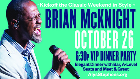 Win Tickets To See Brian McKnight – Friday, Oct. 26th At Magic City Classic Weekend!