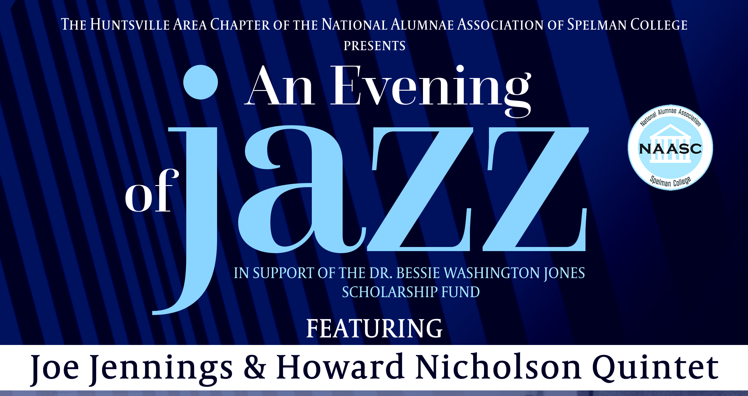 """An Evening Of Jazz"" Spelman College Alumnae Fundraiser – Saturday, March 9th!"