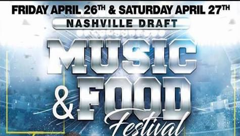 Win Tickets To The 2019 Nashville Draft Music And Food Festival!