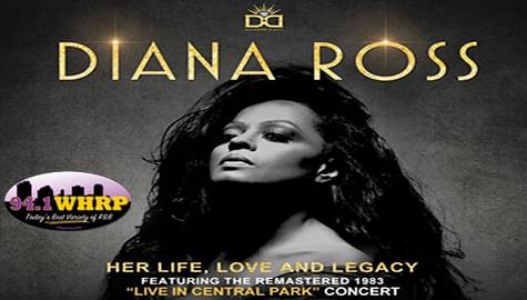 """94.1 WHRP Has Your Tickets To """"Diana Ross: Her Life, Love And Legacy"""" – Special Screenings March 26th!"""