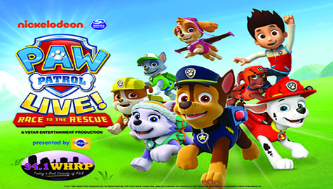 """Win Tickets To """"PAW Patrol Live!"""" – Aug, 23-25 At The VBC!"""