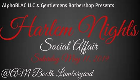 """Win Tickets To The """"Harlem Nights Social Affair"""" – Saturday, May 11th!"""