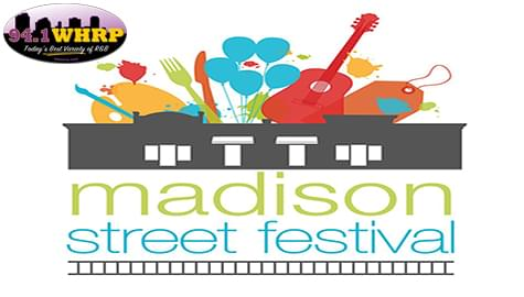 Join 94.1 WHRP At The 2019 Madison Street Festival – Saturday, Oct. 5th!