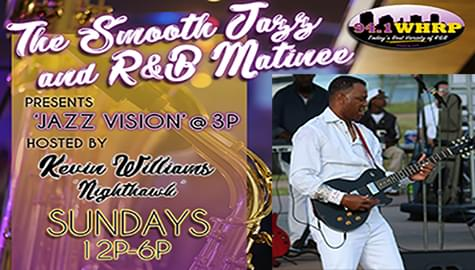 """Jazz Vision"" Welcomes Jeffery Smith – Sunday At 3pm On 94.1 WHRP!"