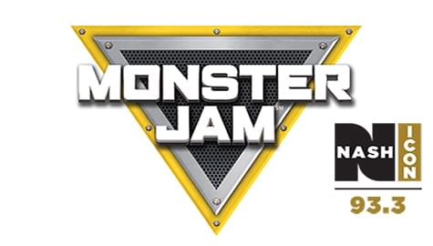 93.3 Nash Icon Has Your Tickets To Monster Jam – March 15-17 At The VBC!