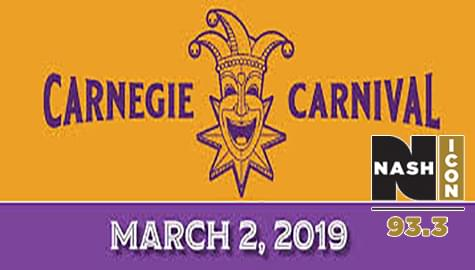 Join Us At The 2019 Carnegie Carnival – Saturday, March 2nd In Decatur!