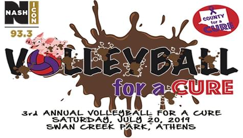 3rd Annual Volleyball For A Cure – Saturday, July 20th!