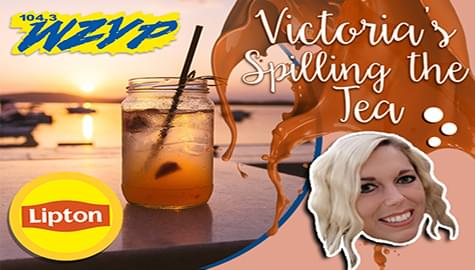 Victoria's Spillin The Tea With Lipton!