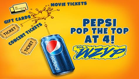 "Pepsi's ""Pop The Top At 4"" With Steve Smith!"