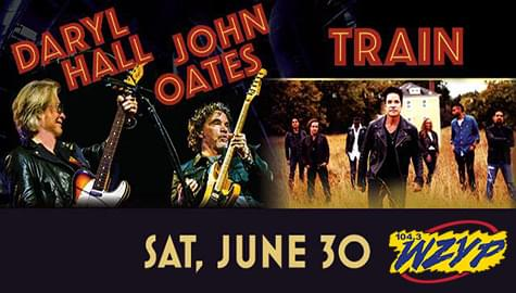 Win Tickets To See Daryl Hall & John Oates With Train – June 30th In Nashville!
