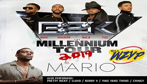 "Win Tickets To The ""Millennium Tour"" Starring B2K – March 23rd In Nashville!"