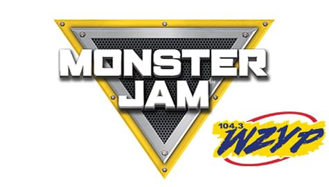 Win Your Tickets To Monster Jam – March 15-17 At The VBC – With ZYP!