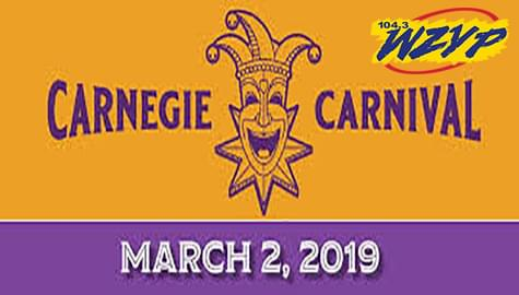 "Join The ""ZYP Crewe"" At The 2019 Carnegie Carnival – Saturday, March 2nd In Decatur!"