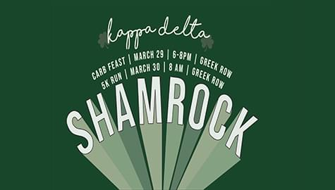 UAH Kappa Delta 19th Annual Shamrock 5K – Saturday, March 30th!