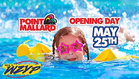 Celebrate Opening Weekend At Point Mallard Water Park With ZYP!
