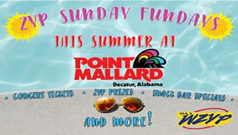 ZYP Sunday Fun Days Are Back This Summer At Point Mallard Park!