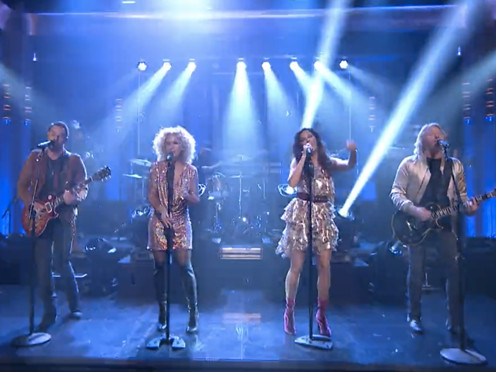 """Get Moved by the Spirit of Little Big Town's Performance of """"Rollin'"""" on """"Jimmy Fallon"""" + Watch Them Play a Game of Musical Beers"""