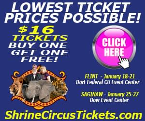 Click here for your Shrine Circus 2019 Coupon!