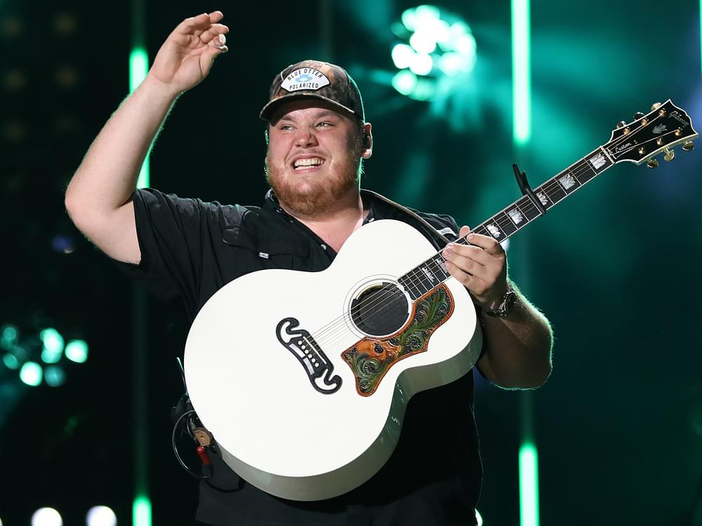 Luke Combs Inches Closer to Shania Twain's All-Time Chart ... on