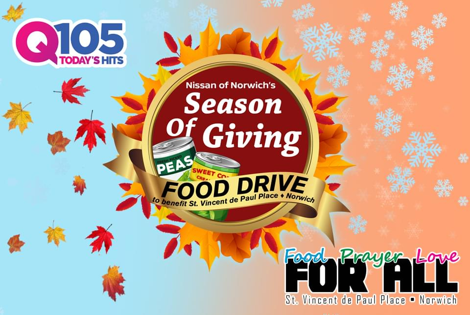 Q105 & Nissan of Norwich's Season of Giving!
