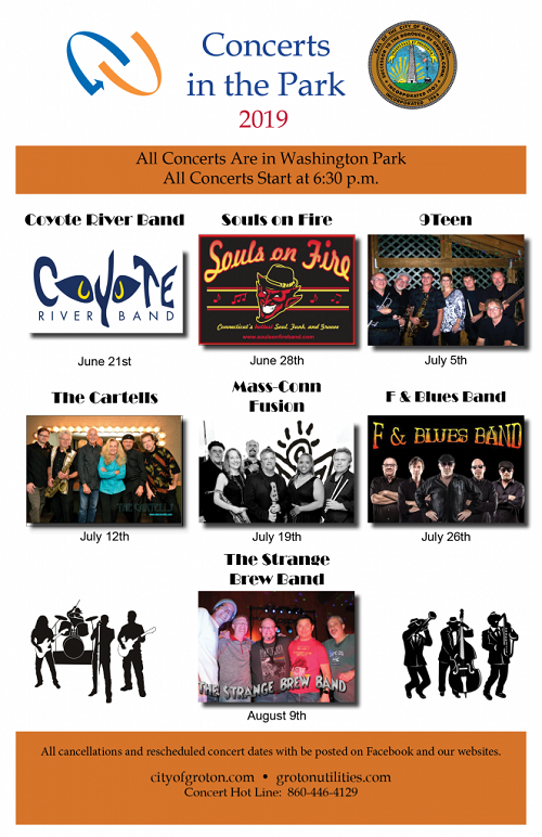 Groton's Concerts in the Park
