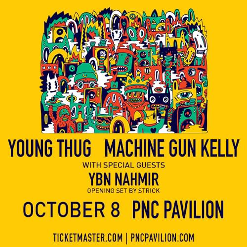 Young Thug & MGK at PNC Pavilion!! | HOT 102 5 | WLTO-FM