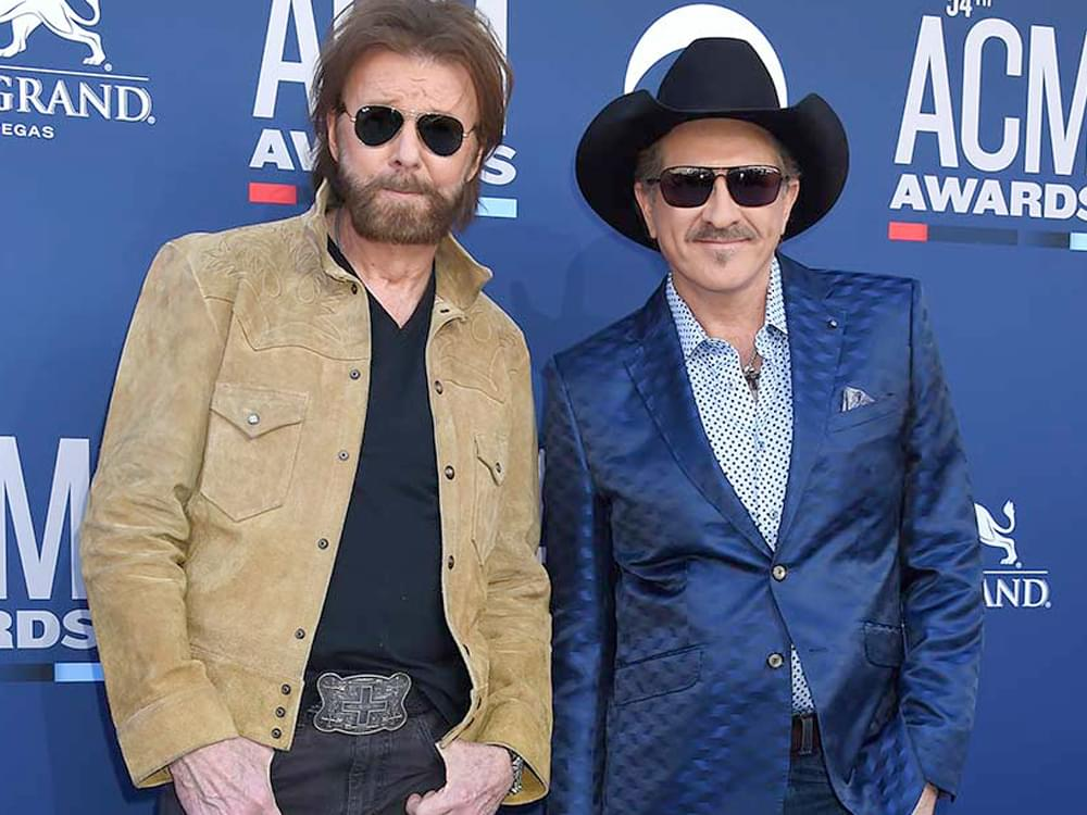 "Brooks & Dunn to Headline Free ""CMT Crossroads"" With Luke Combs, Brett Young, Midland, Jon Pardi & More"