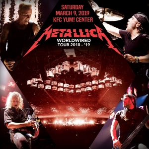 Metallica 'Hardwired World Tour' At The KFC Yum Center