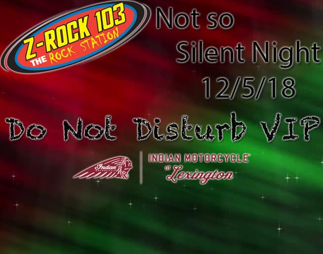 Do Not Disturb VIP Package for Not So Silent Night